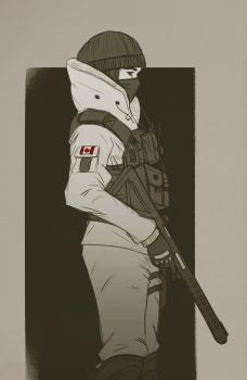 rainbow six siege fanart by JerichoRus