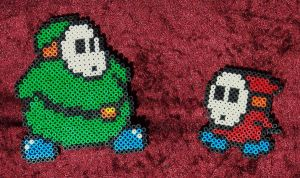 Beads - Mario characters 3 by Oggey-Boggey-Man