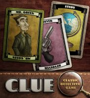 Clue: Mr Green, Revolver, Study by IngvardtheTerrible