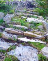 Stone Steps to Nowhere by bobtheenchantedone
