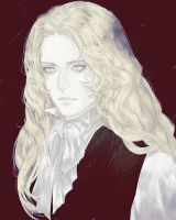 SOTN Symphony of the night Alucard by NightArmster
