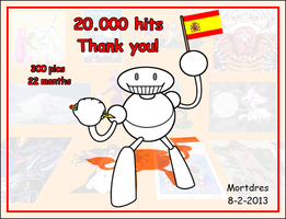 Mortdres 20.000 hits by Mortdres