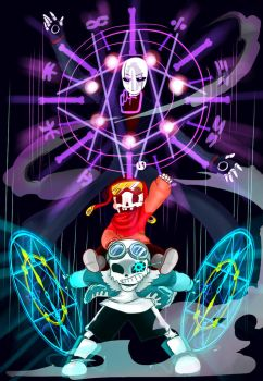 QuantumTale: Font (Gaster) Family by perfectshadow06