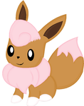Pinky The Eevee by LeafyTheCat