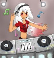 Commission: DJ Reina by Flame-of-Icarus