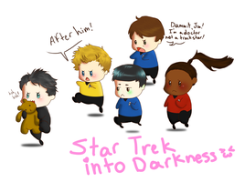 Star Trek into Darkness by greenteaduck