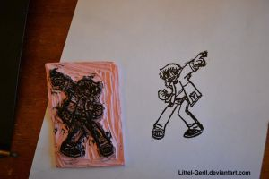 Scott Pilgrim Stamp by Littel-Gerll