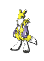 Renamon by zeromarusaur