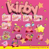 Icons kirby by xxmsrockxx