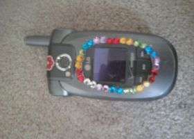 Customized Cell Phone by queeniexunleashed