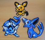 Pokemon sprite bead 2 by Chiki012