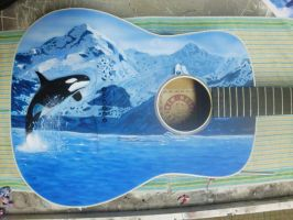 orca guitar by anestheticolor