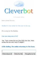 Cleverbot sings! by vulcangirl14