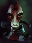 Mass Effect: Mordin Solus by ruthieee