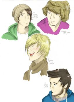 Mcfly- The Boys NOW IN COLOUR by fruits-basket-head