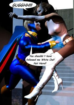 You shouldn't have followed me, White Owl by White0wlsuperheroine