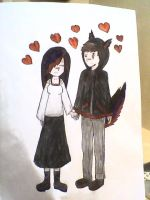 me and my loving girlfriend by jack9730