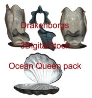 Ocean queen pack by 3DigitalStock