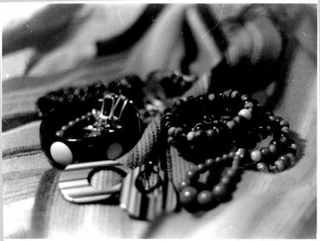 Jewelry Still-life by ecstasyunearthed