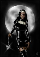 Gothic Nun by Blleak