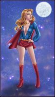 Supergirl - Stargazing by kclcmdr