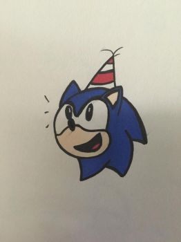 Blue Blur's Birthday! by HarmonyParty