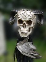 Fantasy Skull 2 by Dragoroth-stock