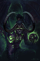 Illidan Stormrage by MattDeMino