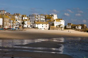 A Wintry St Ives by parallel-pam