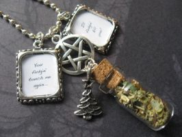 A Very Supernatural Necklace by SpellsNSpooks