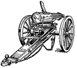 Gatling Gun by IHCOYC