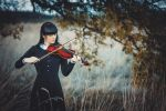 Violinist (Girl with violin) by RylyaPhantomhive