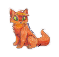 Squirrelflight by ValllaV