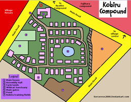 Kobiru Compound layout by Sorceress2000
