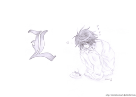 Death Note: L by sasukeluvsme14