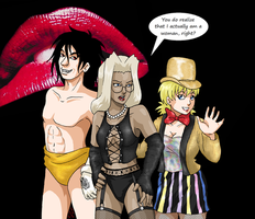 Rocky Hellsing Picture Show by ErinPtah