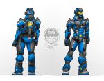 Cybernetic Suit Concept - Commission by EryckWebbGraphics