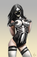 Anti - Venom (female version) by Mister69M