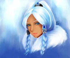 Princess Yue:ATLA by D-Ynn