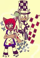 C - Alice and Hatter by TeaLadyC8LIN