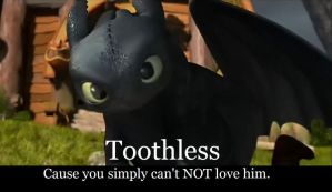 Love for Toothless by Arvata