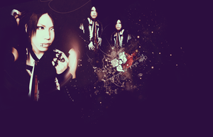 The Gazette - Aoi (wallpaper) by LittleGlamKitty