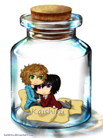 -- SuzaLulu: Bottle of Love -- by Kaishiru