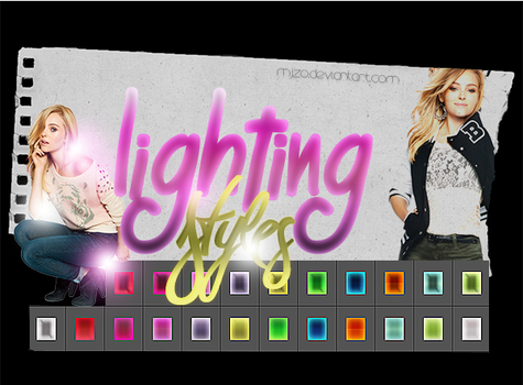 Lighting Styles. by Mjzo