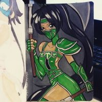 Ninja 20 Akali by the-kid36