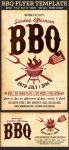 Barbecue-BBQ Flyer Template by Hotpindesigns