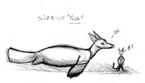 size of fish by Allaze-eroler