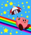 Parasol Kirby by ryanthescooterguy