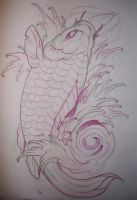 Koi fish flash01 by SunofKyuss