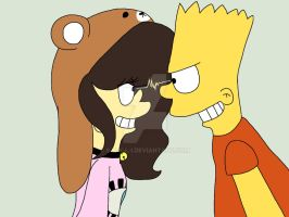 Victoria and Bart by S-K-Y-L-I